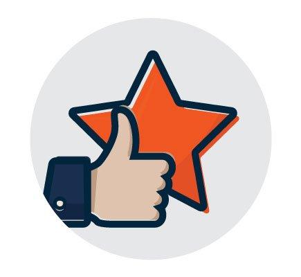Reviews program icon